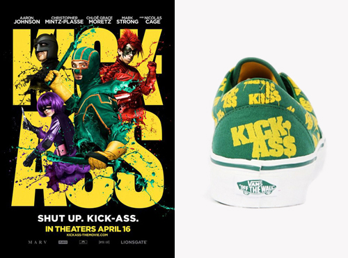 Kick Ass The Movie - Era x Vans