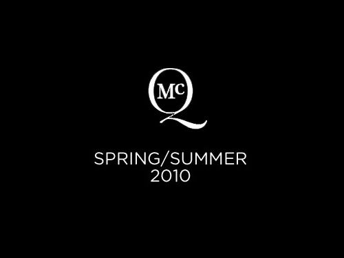 McQ Mens Collection Spring / Summer 2010