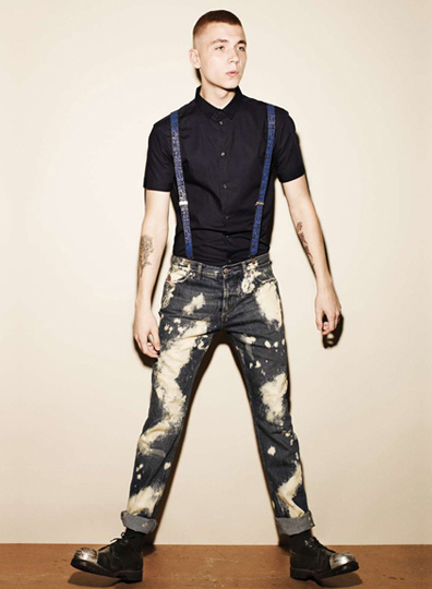 McQ Mens Collection Spring / Summer 2010 - Look 1