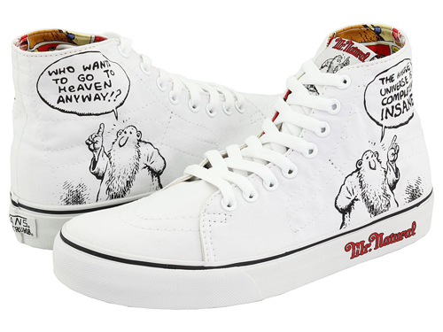 R. Crumb x Vans - Mr. Natural Deconstructed Sk8 Hi, Fritz The Cat Slip-Ons