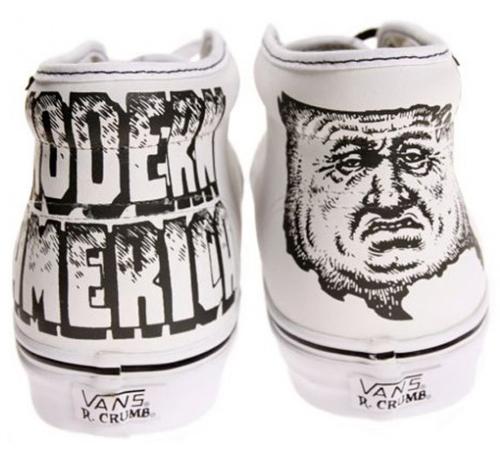 R. Crumb x Vans - Modern America Chukka