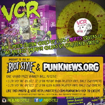 VCR - We Are 821 Misfits Tribute Album - Punknews.org Riot Style Contest