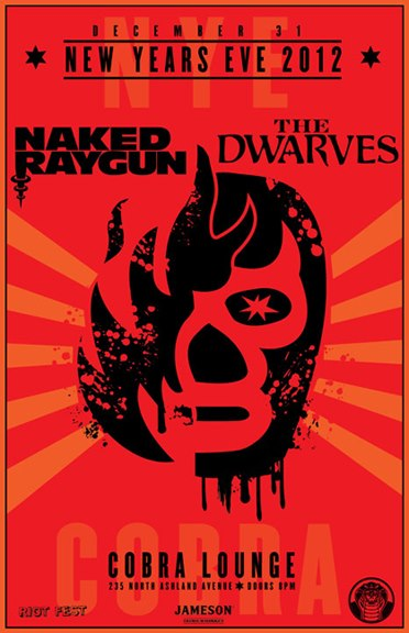 The Dwarves w/ Naked Raygun New Years Eve