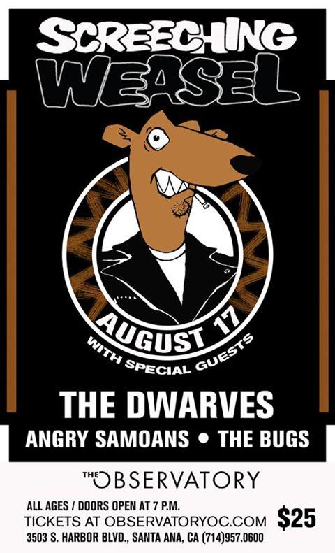 The Dwarves Screeching Weasel 2013