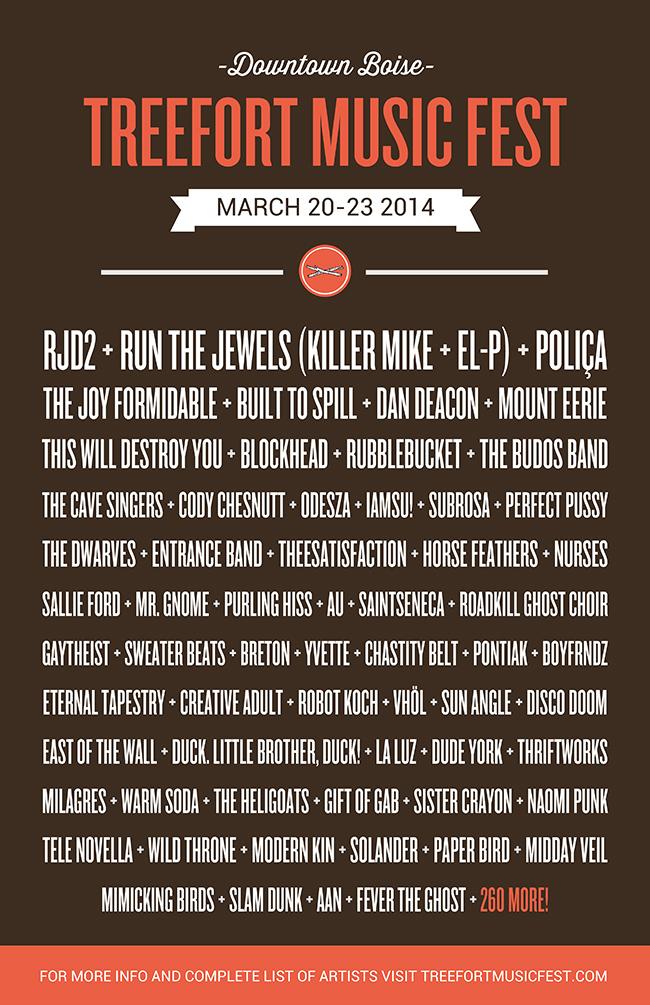 The Dwarves Live At Treefort Music Festival 2014 Boise Idaho
