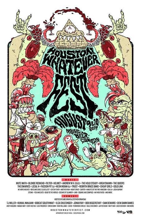 The Dwarves - Houston Whatever Fest 2014