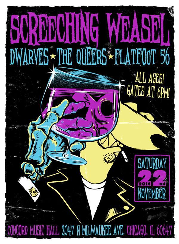 The Dwarves  Queers Screeching Weasel Tour 2014