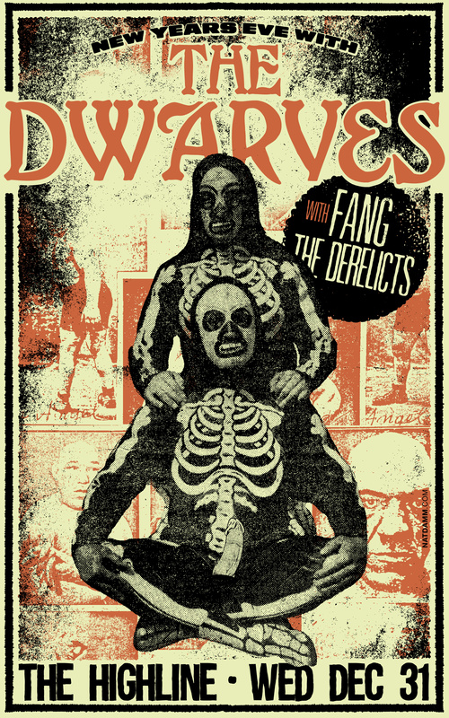 The Dwarves Fang The Derelicts New Years 2014 2015