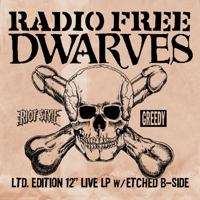 The Dwarves Radio Free Dwarves Preorder