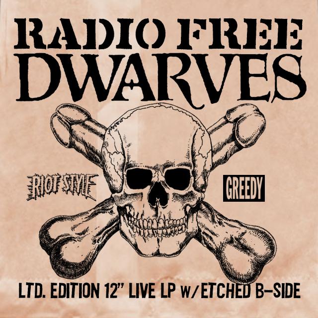 The Dwarves Radio Free Dwarves Preorder