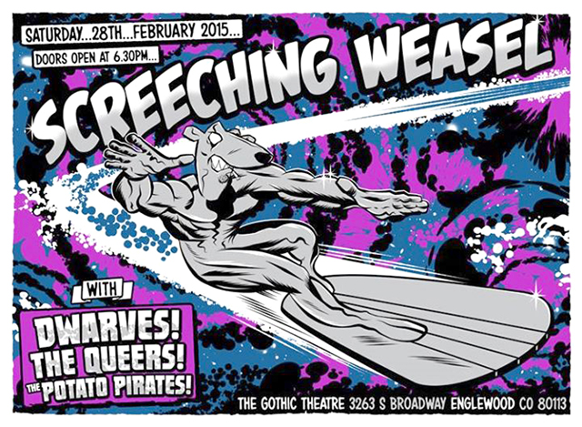 The Dwarves The Queers Screeching Weasel