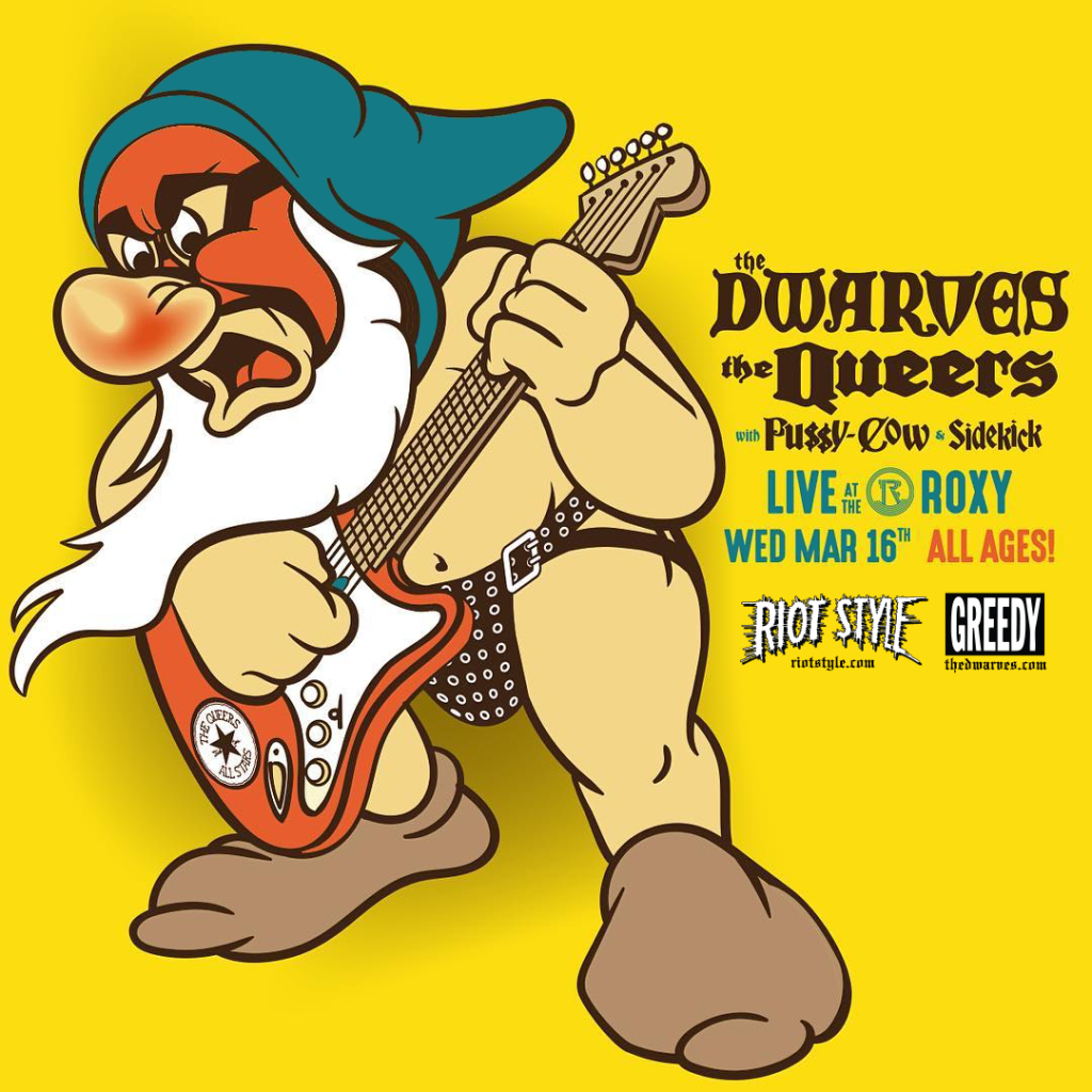 The Dwarves The Queers The Dickies March Tour Dates