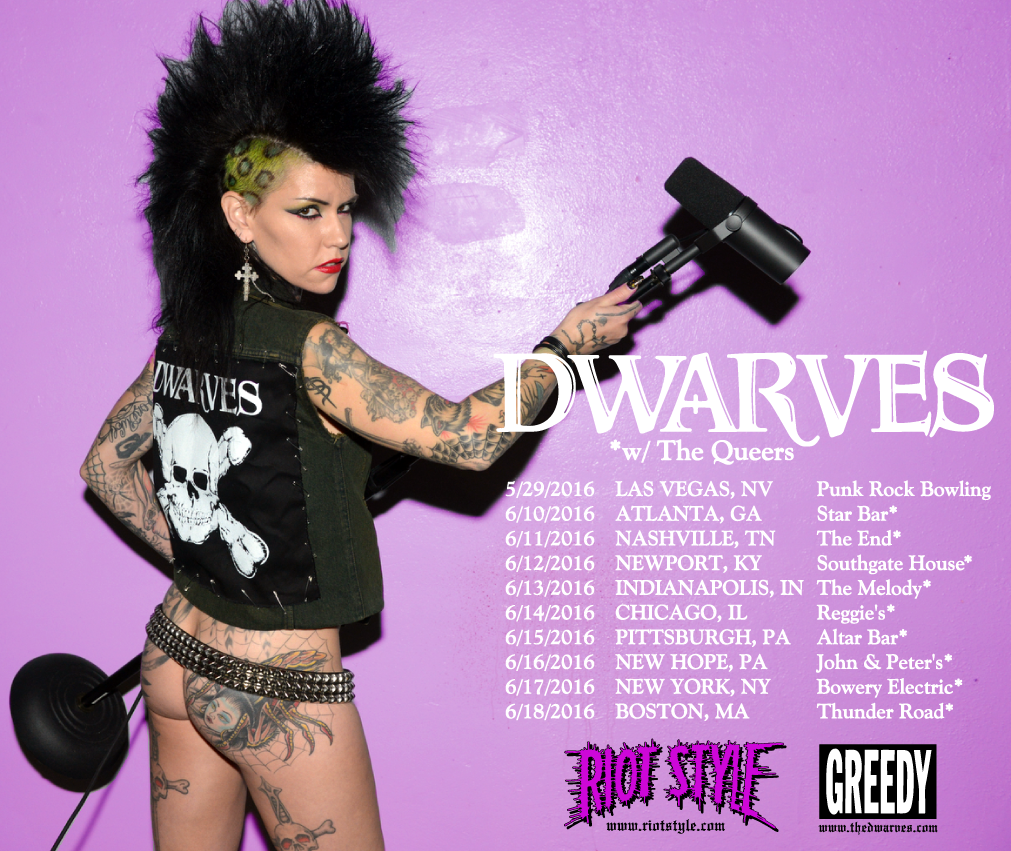 The Dwarves, The Queers, Punk Rock Bowling, Dillinger Four, Descendents, Las Vegas, East Coast