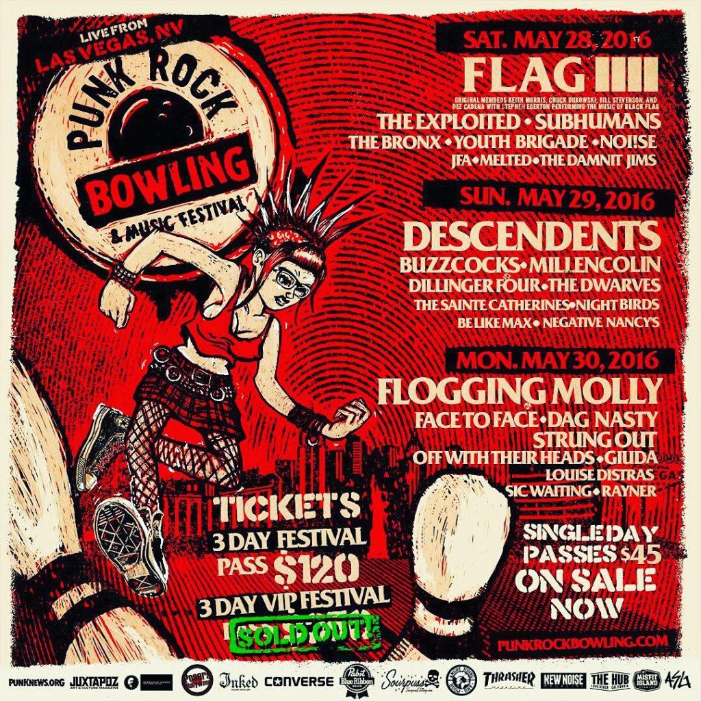 The Dwarves Live w/ Descendents, Dillinger 4, Buzzcocks & More!