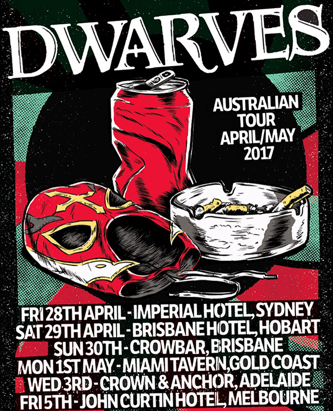 The Dwarves Australian Tour Dates 2017