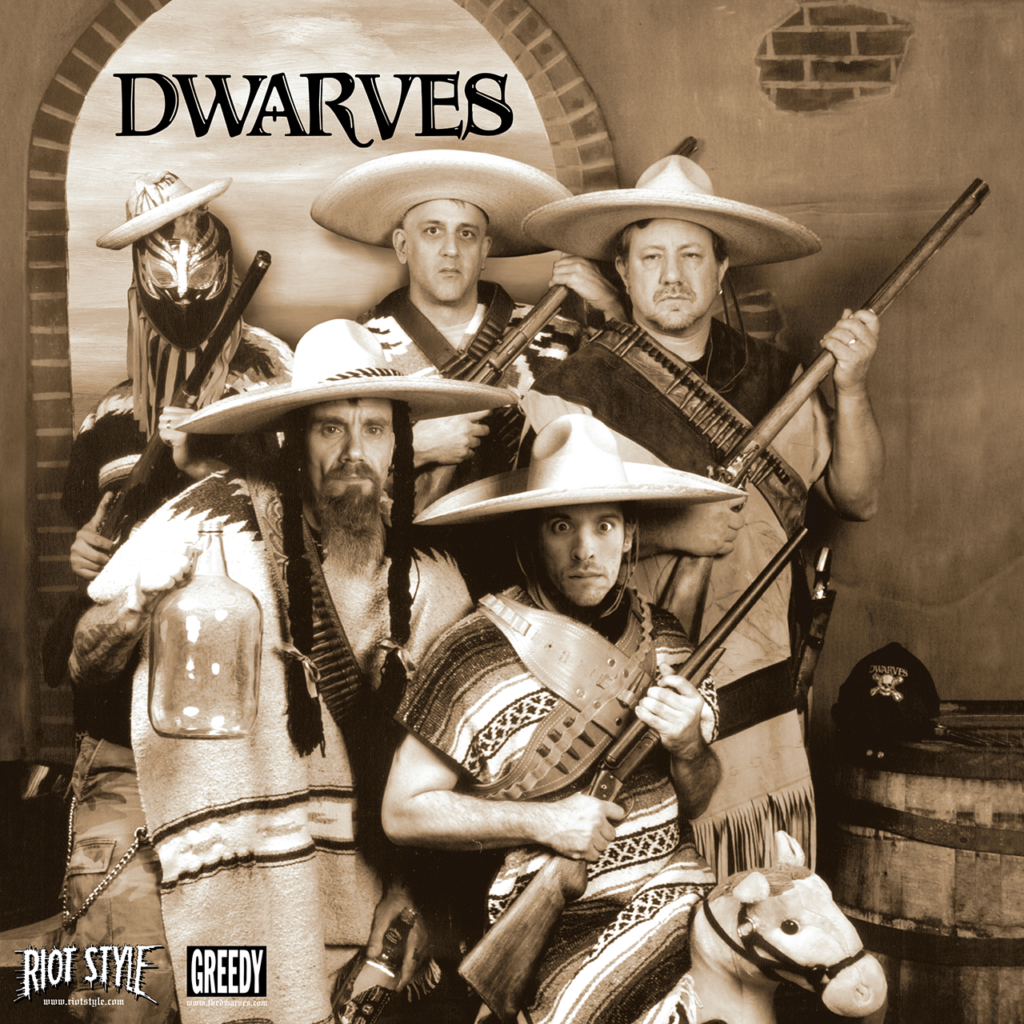"The Dwarves - The Julio EP 7"" Vinyl - Riot Style"